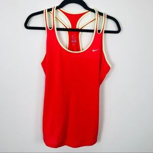 NIKE DRI- FIT Racer Back Active Tank Size Large